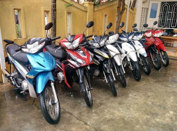 Cho Thuê xe máy tại Sân Bay Nội Bài