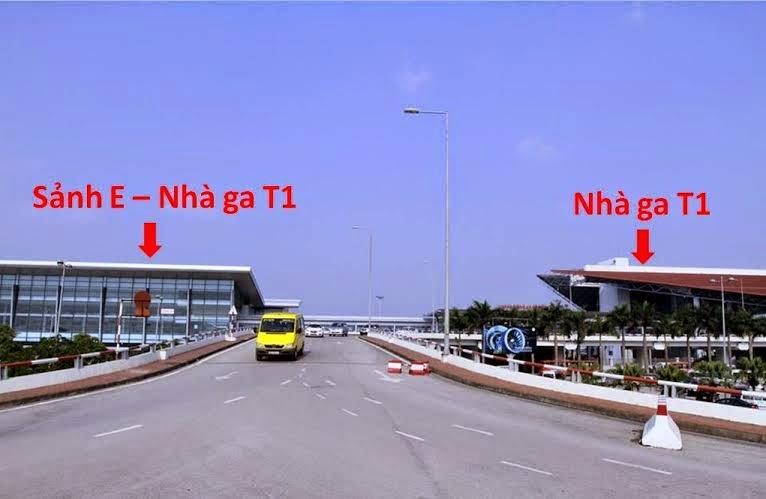 Sảnh E nhà ga T1 sân bay Nội Bài