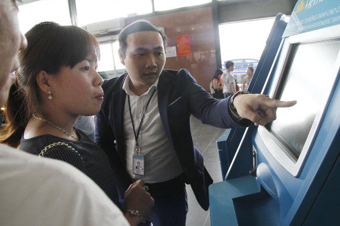 Check in trực tuyến trước khi bay tại Sân Bay Nội Bài-Taxi Nội Bài