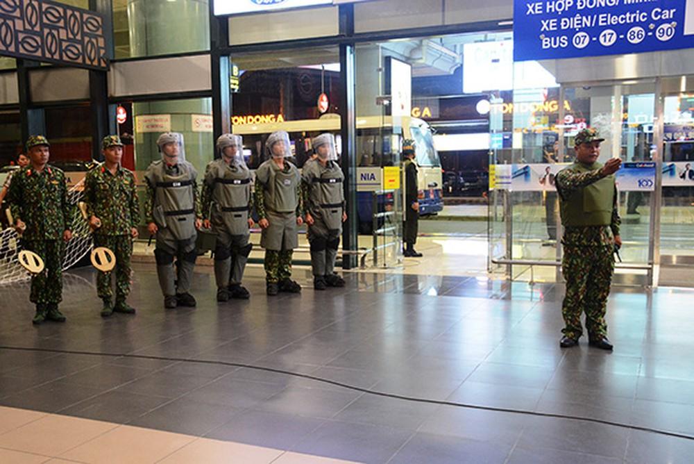 Cảng HKQT Nội Bài thực hiện công tác khẩn nguy sân bay Nội Bài
